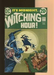 Witching Hour 33 VG+ 4.5 * 1 Book Lot * DC Horror 1973! Alfredo Alcala!