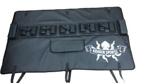 Kraken Bike Tailgate Truck Pad W/Straps and Spacing for compact trucks