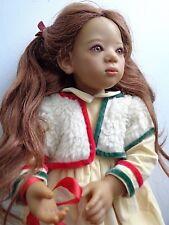 Annette Himstedt vinyl & cloth body Deta Doll Germany 26 in.