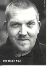 Autogramm - Dietmar Bär