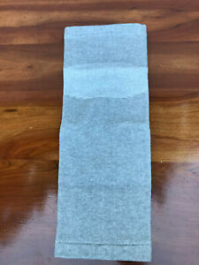 80 Blue 43 Gray Knit Athletic Knee Sleeve Size XL Extra Long