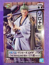 Banpresto One Piece Grandline Men Wanokuni Anime Figure Toy Roronoa Zoro BP39846