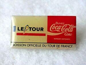 COCA COLA - Tour De France - Advertising - PIN BADGE
