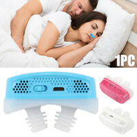 Mini CPAP Micro CPAP Nose Anti Snoring Device Sleep Apnea Stop Snore Aid Stopper