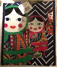 New Vera Bradley Venitian Paisley Russian Doll Small Market Tote Reusable Bag
