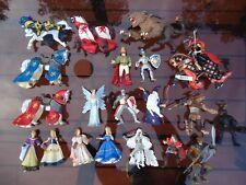 Schleich papo etc brand knights lot