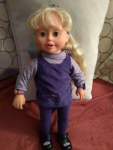 Vintage Ally Doll  Not Working Original Clothes and Shoes