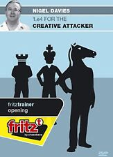 ChessBase Davies - 1.e4 for the creative attacker - fritztrainer Opening  Schach
