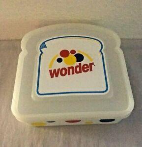 "2016 A.Aronson Wonder Plastic Kid Lunch Box 5"" x 4 1/2"""