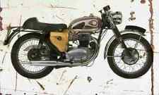 BSA A65 1966 Aged Vintage SIGN A3 LARGE Retro