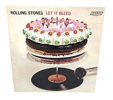ROLLING STONES Let it Bleed Vinyl LP ORIG Stereo 1969 London NPS-4 Bestway Press