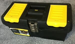 Stanley Toolbox 16 inch With Organiser Tray and Metal Latches STA192065