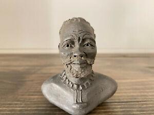 Paddy Ntuli Clay Sculpture Eshowe Zulu S. Africa