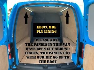 VW Caddy Maxi UP TO 2016 DELUXE ply lining kit FREE UK P&P plylining