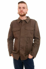 Unbranded Cotton Button Military Coats & Jackets for Men