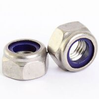 Bolt Base 12mm A2 Stainless Steel Fine Pitch Hexagon Half Lock Nuts Hex Thin Nut DIN 439 M12 X 1.50mm 5