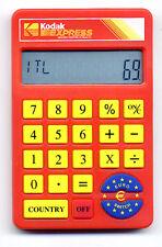 Calcolatrice  8 cifre con euro convertitore  KODAK - Calculator euro converter
