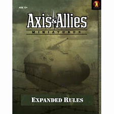 AXIS /& ALLIES MINIATURES expanded rules SUPPLEMENT JEU NEUF SOUS BLISTER