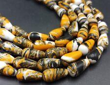 8x16mm Multicolor Turkey Turquoise Gemstone Drop Loose Beads 15''