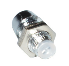20 x Portaled in plastica argentata LED Bezel 5mm plastic silver pedal clone DIY