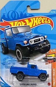 Hot wheels Toyota Land Cruiser Blue 2021 New Release L Box
