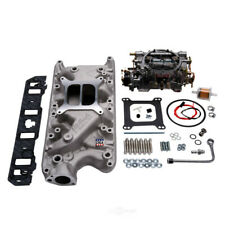 Intake Manifold/Carburetor Kit-Single-Quad Manifold And Carb Kit Edelbrock 2031