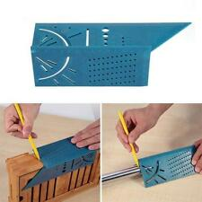 Multifunctional Square 45/90 Degree Gauge Angle Ruler Measuring Tool Charm 3D