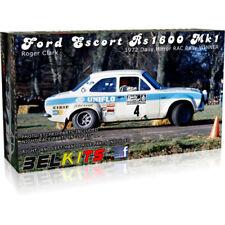 BELKITS FORD ESCORT mk1 rs1600 Roger Clark Mason Auto da Rally KIT MODELLO 1:24 bel007