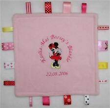 Peluche Taggy Couverture Douce Minnie Mouse ~ ~ fait sur commande personnalisé gratuit!