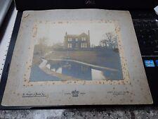 PHOTOGRAPH KRUGER HUDDERSFIELD COMBERMERE NATAHN JAGGERS HOUSE 1905 ERA