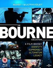 The Bourne Collection (Blu-ray - 4 Film Boxset)