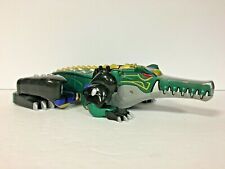 Power Rangers Alligator Wild Force Deluxe Megazord Predazord Croc 2001 (Parts)