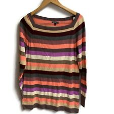 gap maternity Sweater Large Square Neck Striped