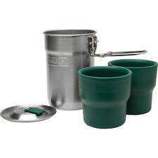 Stanley Adventure 24 oz. Camp Cook Set with Insulated Cups - Stainless Steel