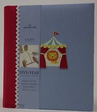Hallmark Circus Boy Five Year Memory Book NWT