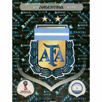 Panini WM 2018 272 Argentinien Argentina World Cup 18Wappen Logo Glitzer Foil