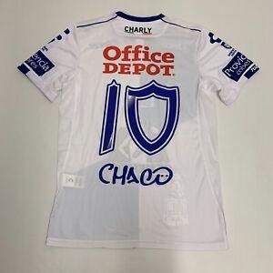 NWT Men's Pachuca Tuzos Charly CHACO JIMENEZ 10 Player Sz M Soccer Jersey Mexico