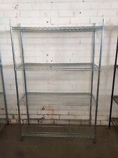Wire shelving 1200mm rack for retail shop BRAND NEW Zinc coated cold cool room
