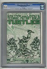 Teenage Mutant Ninja Turtles #4 CGC 9.4 White Pages