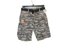 Lee Dungarees Wyoming Camo Cargo Shorts Size 14 R Nwt With Belt