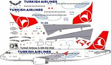 Turkish Airlines Airbus A-320 decals for Revell 1/144 kit