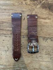 ZRC Grand Fonds Brown Leather Strap With Buckle