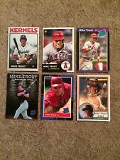 6 Card Mike Trout Rookie ACEO  Custom Lot