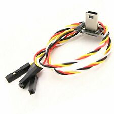 Mobius Mini-USB FPV Cable Audio Video Output with DC 5V and GND