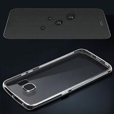 Silikonhülle Handytasche für Samsung Galaxy Schutzhülle Handyhülle Case + Folie