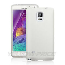 Samsung Galaxy Note 4 Anti-Scratch Case TPU Back Cover Clear +Sceen Protector