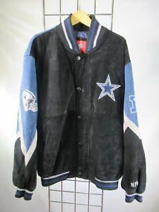 H1474 VTG NFL Men's Dallas Cowboys Football Team Letterman Jacket Size L