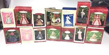 15 Barbie Hallmark Christmas Ornaments Lot Celebration Club Edition More