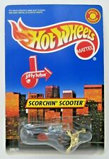 Hot Wheels 1998 SCORCHIN' SCOOTER Limited Ed JIFFY LUBE Exclusive GOLD - MINT !!