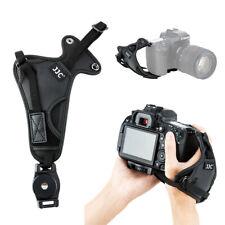 Microfibra De Cuero Correa de Mano Agarre para Cámaras DSLR Canon Nikon Sony Fujifilm
